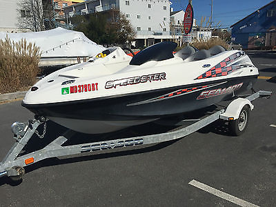 2003 Sea-Doo Speedster Jet Boat 240hp EFI V6 Mercury Engine 226 Hours & Trailer