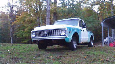 Chevrolet : C-10 1972 Chevrolet C10 1972 chevrolet chevy c 10 c 10 stepside short bed pickup truck