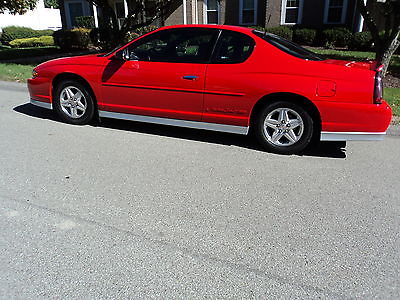 Chevrolet : Monte Carlo SS LIMITED EDITION MONTE CARLO CHEVY LIMITED EDITION 2001