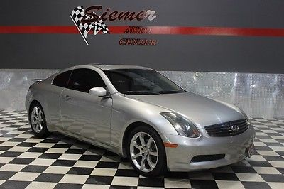 Infiniti : G35 w/Leather silver, coupe,