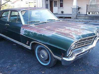 Ford : Galaxie Ford 500 1967 ford galaxie 500 4 dr 390 v 8 auto mechanical restoration done drives, 1