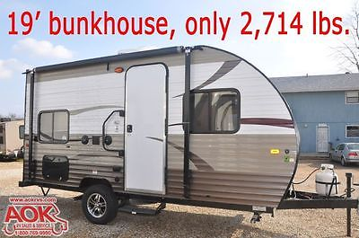 2015 Forest River Wolf Pup 16BH Limited - Small price loads of options