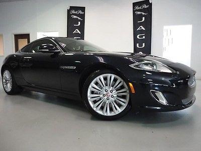 Jaguar : XK Coupe 2012 jaguar xk coupe rare blue tan combination