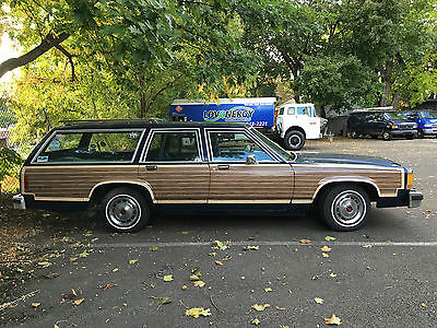 Ford : Other Country Squire 1985 ford country squire ltd station wagon classic