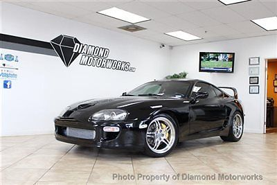 Toyota : Supra Twin Turbo TwinTurbo*6speed*Black/Black*Targa*Upgrades
