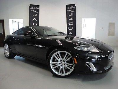 Jaguar : XK Coupe 2012 jaguar xk coupe rare black and london tan