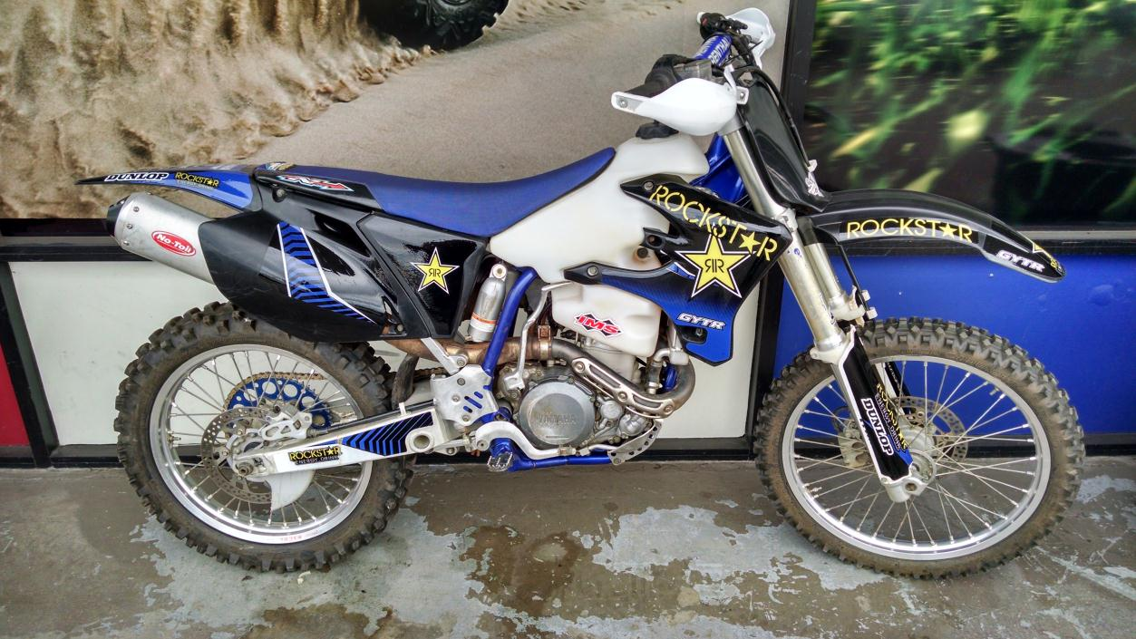 Yamaha ys450f motorcycles for sale in auburn california for Yamaha warrior for sale