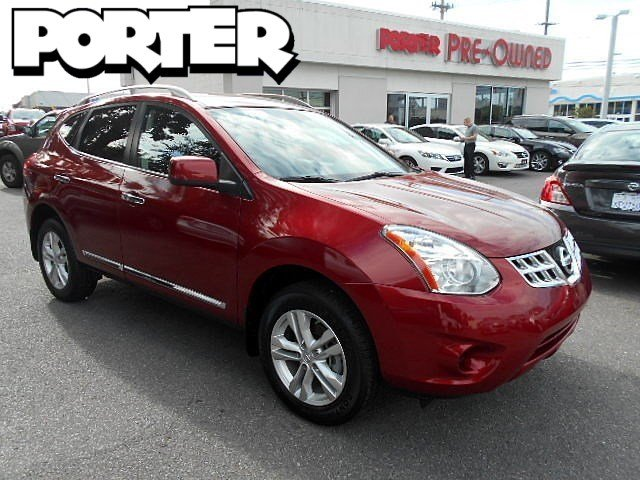 2013 NISSAN Rogue AWD S 4dr Crossover