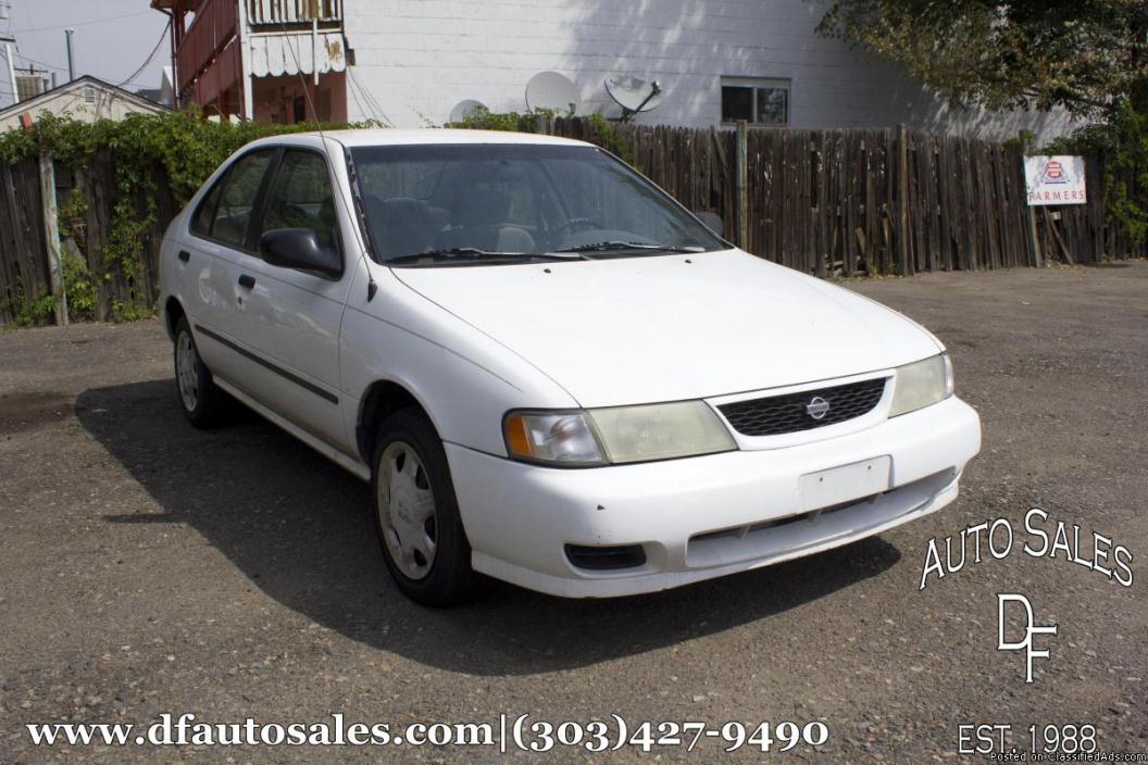 1998 Nissan Sentra GLE