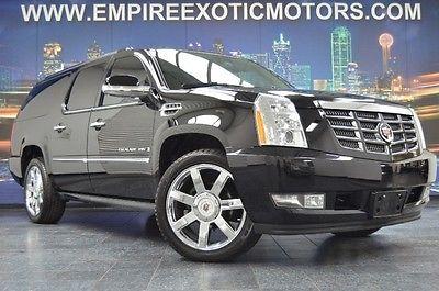 Cadillac : Escalade ESV 2009 cadillac esv