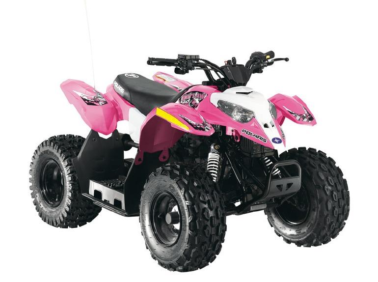 2016 Polaris Outlaw 50 Pink