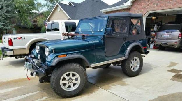 1977 Jeep CJ5 for: $12250
