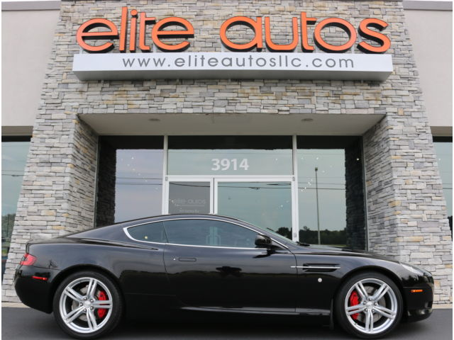 Aston Martin : DB9 2dr Cpe Auto ASTON MARTIN DB9 Coupe SPORTS PACK Contrast Stitching MSRP $195K V12 Low Miles