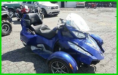 Other Makes : SPYDER RTS 2012 used can am spyder rts repairable damage