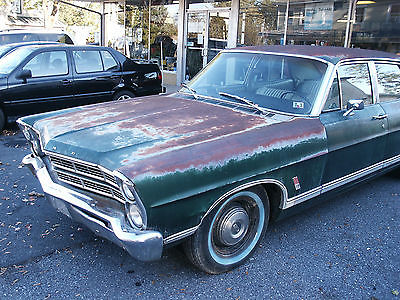 Ford : Galaxie Ford 500 1967 ford galaxie 500 4 dr 390 v 8 auto mechanical restoration done drives
