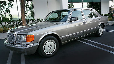 Mercedes-Benz : 500-Series SEL MERCEDES BENZ 1991 560 SEL IN EXCELLENT CONDITION