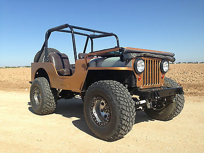 Willys 1951 willys m 38 military jeep cj rare v 8