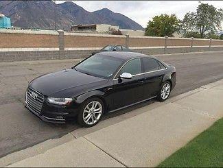 Audi : S4 Premium Plus 2013 audi s 4 premium plus super charged low miles 2 owners warranty