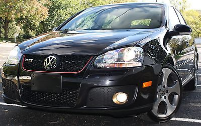 Volkswagen : Golf GTI 4-DOOR  2009 gti 4 door black plaid 6 speed dsg 18 xenon cleanest last one nr