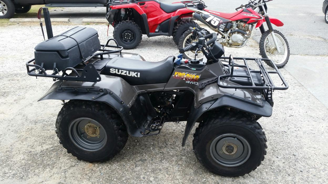 suzuki king quad 250 motorcycles for sale. Black Bedroom Furniture Sets. Home Design Ideas