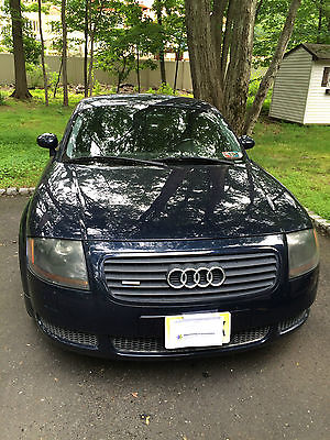 Audi : TT Quattro 2002 audi tt quattro 1.8 t base coupe 2 door w stage 3 performance chip mods