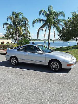 Acura : Integra GS Hatchback 3-Door 2001 acura integra gs 3 d silver exterior with black leather interior sunroof