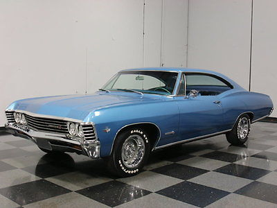 Chevrolet : Impala SS REAL-DEAL SS IMP, MARINA BLUE ON BLUE, 327 V8, AUTO, PWR STEERING & BRAKES!!