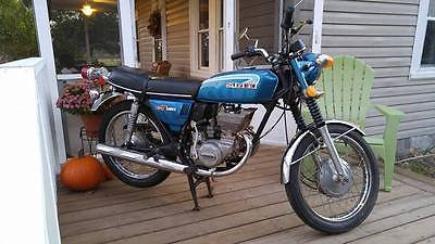 Suzuki : Other 1973 suzuki gt 185 twin 2 stroke street bike motorcycle nice bike gt 185 vintage