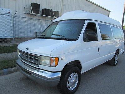 Ford : E-Series Van WHEEL CHAIR HANDICAP VAN 1998 ford e 350 wheel chair handicap van 8 passenger with ricon lift