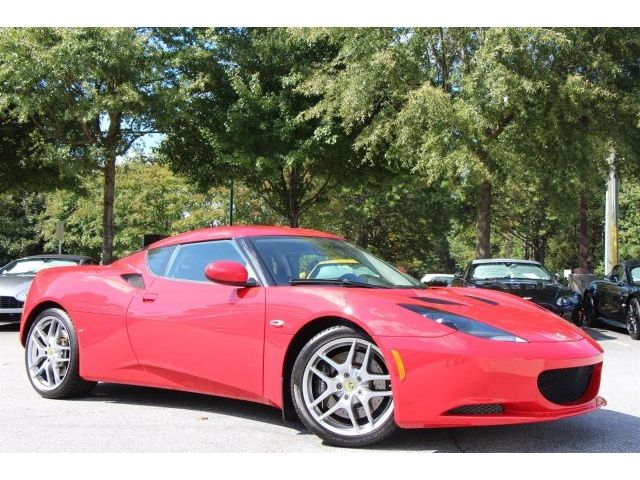 Lotus : Evora Base Coupe 2-Door -MANUAL, RED/ BLACK, EXCELLENT CONDITION, +1 YR WARRANTY WHEN SOLD!