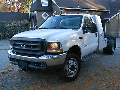 Ford : Other Pickups XL Cab & Chassis 2-Door 2002 ford f 550 super duty xl cab chassis 2 door 7.3 l