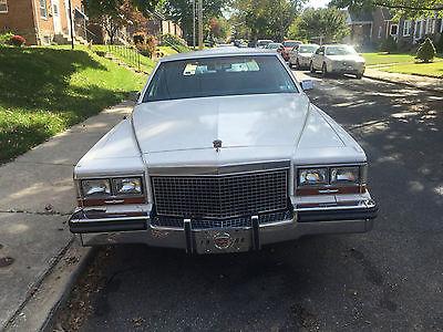 Cadillac : Brougham 4 door sedan 1988 cadillac brougham sedan 4 door 5.0 l mint condition