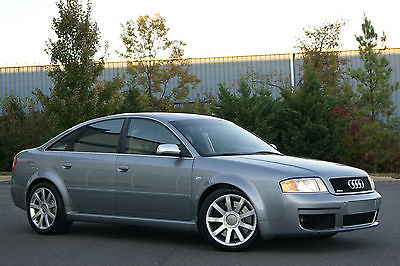 Audi : RS6 RS6 QUATTRO 4.2L BI TURBO  2003 audi rs 6 base sedan 4 door 4.2 l bi turbo hard to find clean must see