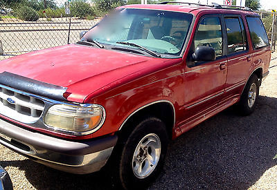Ford : Explorer XLT CONTROL TRAC 4WD RED 1997 Ford Explorer with LOW MILEAGE & XLT Sport Package XLT Control trac 4WD