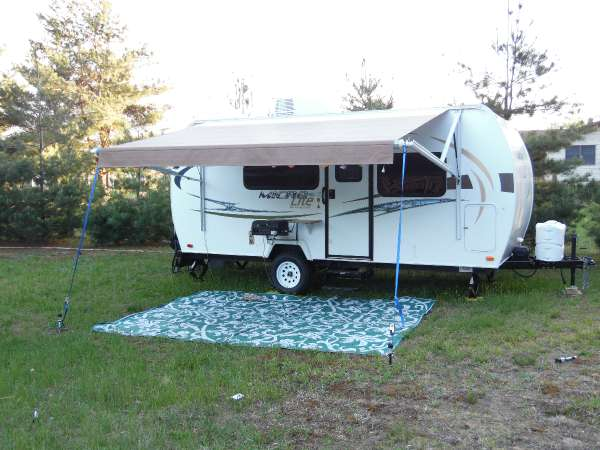 2013  Forest River  Flagstaff Micro Lite 19RB