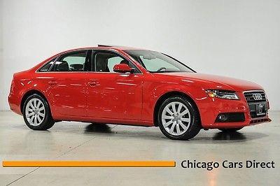 Audi : A4 2.0T Premium  Plus 11 audi a 4 2.0 t turbo premium plus brilliant red automatic low miles rare
