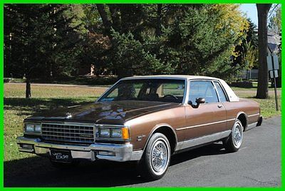 Chevrolet : Caprice 1 Family Owned SURVIVOR 30K Miles MAKE OFFER 1981 chevy caprice survivor 30 245 original miles none nicer make offer