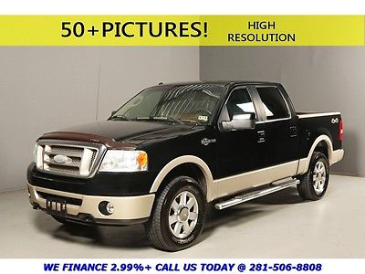 Ford : F-150 2007 KING RANCH 4X4 CREW CAB HEATSEATS LEATHER 17