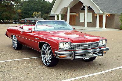 Buick : LeSabre CONVERTIBLE LESABRE IMPALA CAPRICE 1975 convertible pwr top ac 43 k miles original motor 26 s audio caprice impala