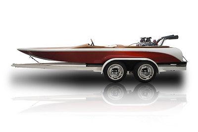 Rare Restored Investment Grade Hallett Barron Drag Boat 440 Chrysler V8