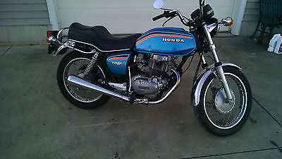 Honda : CB 1978 honda cb 400 hawk survivor head tuner fun rider 5500 miles