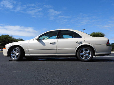 Lincoln : LS 4DR SDN V8 4 dr sdn v 8 sedan automatic gasoline 3.9 l 8 cyl gold