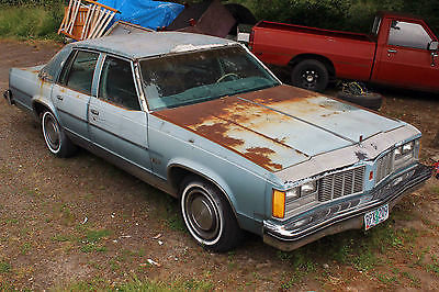 Oldsmobile : Eighty-Eight Royale 1979 oldsmobile delta 88 no motor or transmission