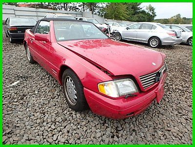 Mercedes-Benz : SL-Class SL320 (STD is Estimated) 1996 sl 320 std is estimated used 3.2 l i 6 24 v automatic convertible premium