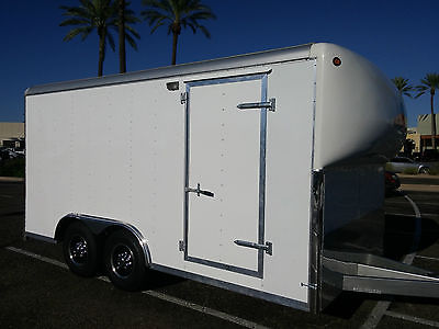 2007 Wells Cargo 16' enclosed trailer