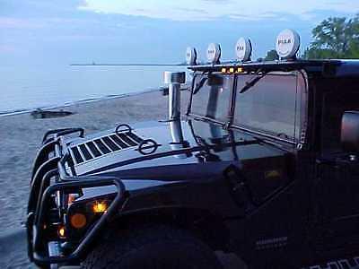 Hummer : H1 WAGON 2000 hummer h 1 wagon ctis winch turbo diesel cgac leather wood dvd cd 3 rd seat