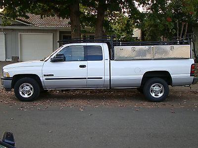 Dodge : Ram 2500 SLT 2002 dodge ram 2500 slt diesel long bed rack tool boxes don t miss