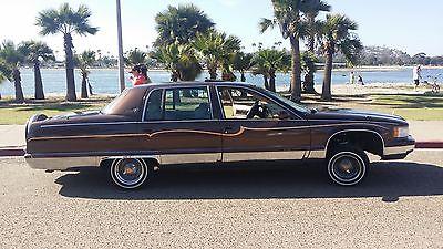 Cadillac : Brougham chrome big body cadillac