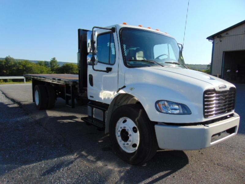 Freightliner M2 Flat Dump Hydraulic Cars for sale