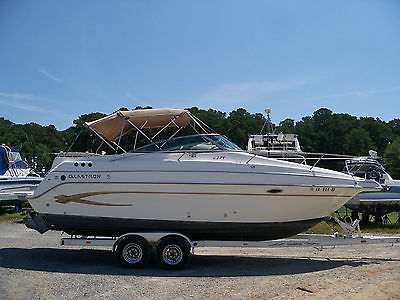 2003 Glastron 27 ft. IB/OB Cruiser Low Hours BOAT FOR SALE